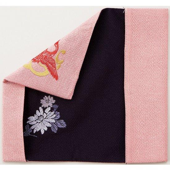 408-201リバーシブル慶弔ふくさ ピンク・パープル 408-201 1801