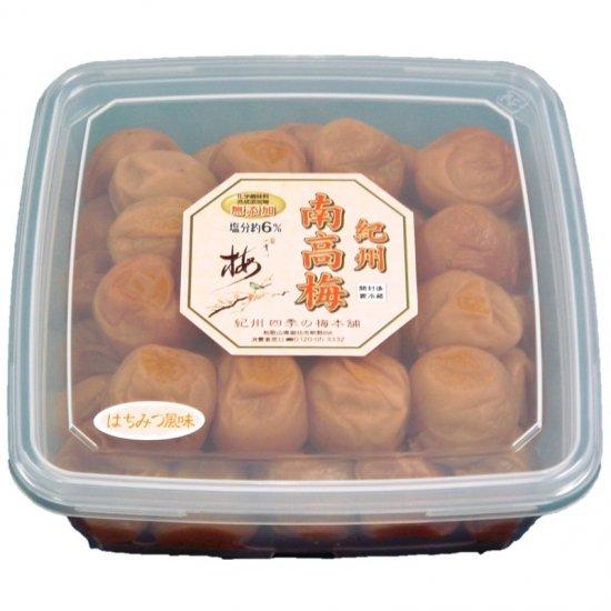 【送料無料】紀州南高梅 はちみつ風味1kg 塩分6% 5821