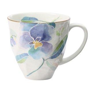 花ことばマグカップ パンジー 01556 3761