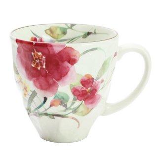 花水彩マグカップ シュウメイ菊 01812 3761