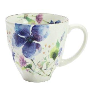 花水彩マグカップ クレマチス 01813 3761