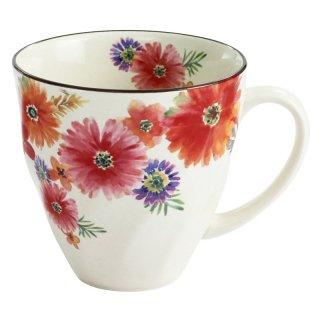 花まどかマグカップ 赤 03772 3761