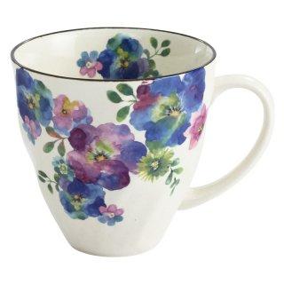 花まどかマグカップ 青 03773 3761