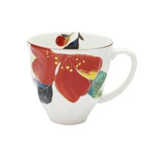 花かいろうマグカップ 山茶花 40506 3761