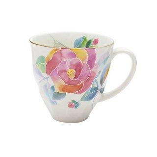花ことばマグカップ バラ(1個箱)40511 3761
