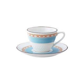 ノリタケ ハミングブルー ティー・コーヒー碗皿 T5389L/1645 0128