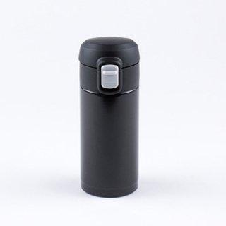 【送料無料】【25%OFF】オミット ワンタッチ栓スリムマグボトル200ml ブラック RH-1508 8910