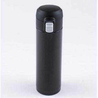【送料無料】【25%OFF】オミット ワンタッチ栓スリムマグボトル300ml ブラック RH-1512 8910