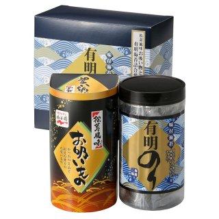有明のり 永谷園松茸風味お吸い物詰合せ ZNA-10 0035