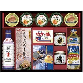 【送料無料】キッコーマン生しょうゆ&バラエティセットTU-80FW 0051