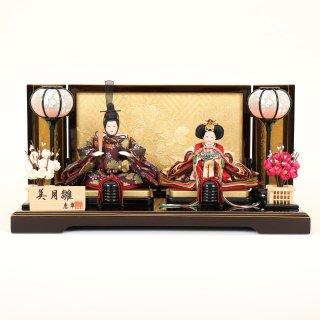 ひな人形4F11-AA-196 親王飾り 43×26×21cm 0011