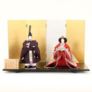 ひな人形 4F13-AA-301 立雛飾り 70×36×43cm 0011