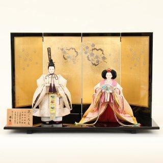 ひな人形 4F13-AA-303 立雛飾り 70×36×46cm 0011