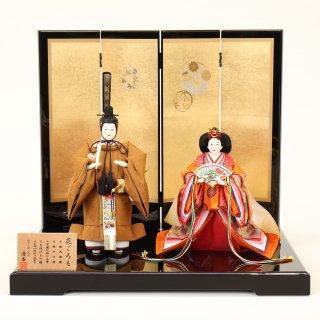 ひな人形 4F13-AA-307立雛飾り 45×35×40cm 0011