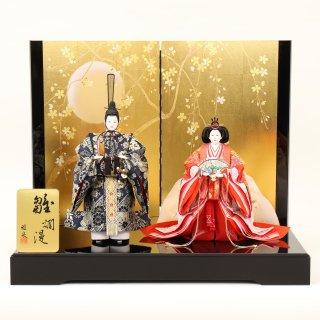 ひな人形4F13-AA-312 立雛飾り 85×57×68cm 0011