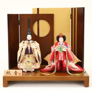 ひな人形4F13-AA-320立雛飾り 38×26×35cm 0011