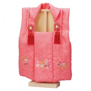 ひな人形 3640-09-003 被布(刺繍付)No.12(台付)0011