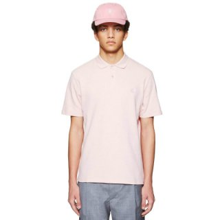 EMBROIDERED DICES BLUSH POLO SHIRT
