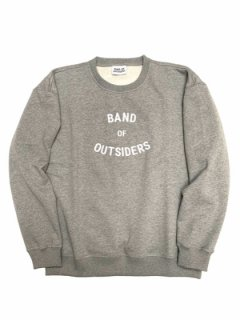 BAND LOGO CREW SWEAT