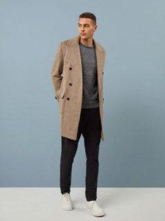 【Brown Mohair Coat】