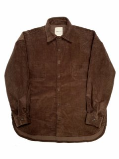 【Mid Corduroy Over Shirt】