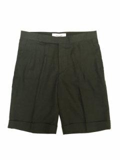【2Tuck herringbone Shorts】