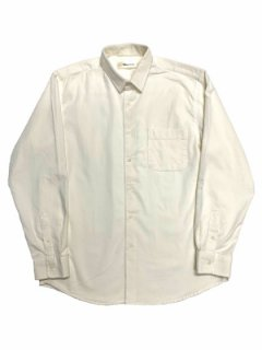 【Thin cord mid fit shirt】