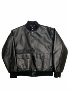 【A1 JACKET】Tanning cow leather