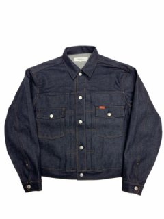 【TRUCK DENIM JACKET】RIGID - INDIGO -