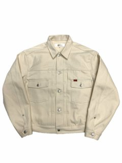 【TRUCK DENIM JACKET】RIGID - IVORY-