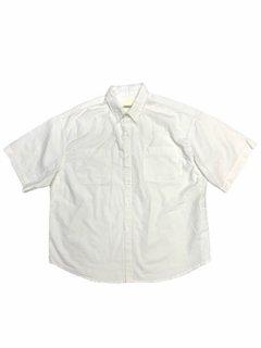 【Soft Canvas Box Shirt】