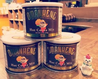 〈OMANHENE(オマンヒニ)社〉のココア缶 (約20杯分)