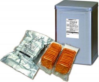 災害救助用クラッカー 35食×2缶/箱
