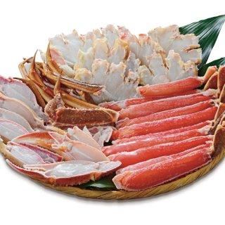 生ずわい蟹(半分殻なし)(オピリオ種)1kg, 2kg