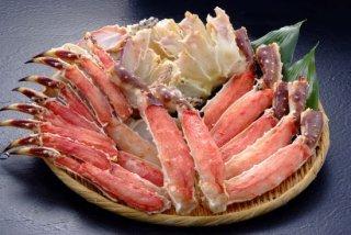 生たらば蟹(半分殻なし)2kg