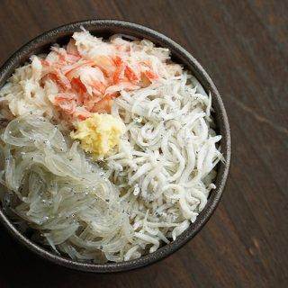 【絶品漁師飯】豪華3色丼セット