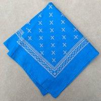 lateuk original BANDANA BLUE&WHITE(Thin)