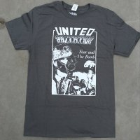 UNITED MUTATION Fear And The Bomb official Tshirts