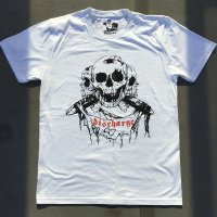 DISCHARGE official THREE SKULLS Tshirt