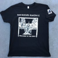 DEVIATED INSTINCT official Welcome To Orgy Tshirts