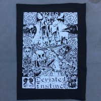 DEVIATED INSTINCT official Welcome To Orgy Back Patch