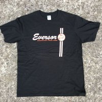 EVERSOR Breakfast Tour 1999 official Tshirts -Black-