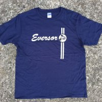 EVERSOR Breakfast Tour 1999 official Tshirts -Navy-