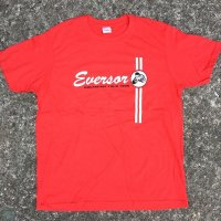 EVERSOR Breakfast Tour 1999 official Tshirts -Red-