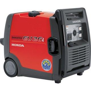 発電機 インバーター ホンダ EU26i-JN ハンドル 車輪付 HONDA 家庭用 防災 メーカー保証付き