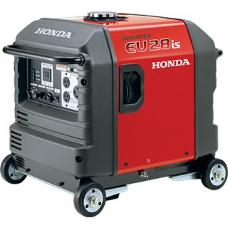 honda  発電機 EU28is-JNA3 車輪付き インバーター発電機 セルスターター(電動)併用式