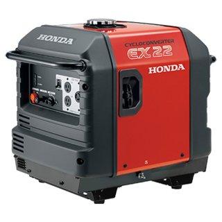 発電機 ホンダ発電機 EX22-JNA2 サイクロコンバーター発電機(スタンド仕様)