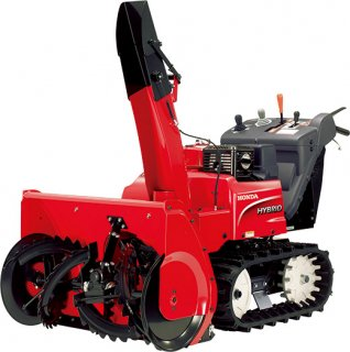 除雪機 家庭用 ホンダ HSM1380i-JN 中型ハイブリッド エンジン 家庭用 HONDA オイル充填整備済み