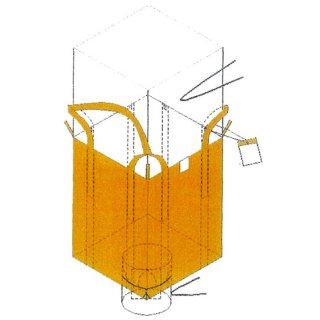 米用フレコン 注入口全開タイプ 10枚セット ワンウィル オギハラ 【メーカー直送・代引不可】