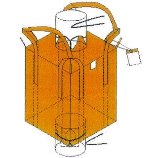 米用フレコン 注入口半開タイプ 10枚セット ワンウィル オギハラ 【メーカー直送・代引不可】